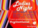 Ladies Night bij Bibliotheek Rijn en Venen in Alphen a/d Rijn