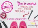 Ladiesnight bij Sportschool Willemsen in Oosterhout