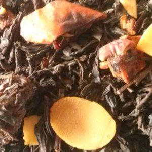 zwarte thee appeltaart