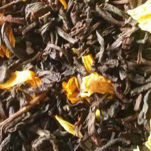 zwarte thee springen