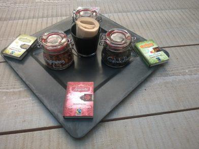 cadeau kayla met thee