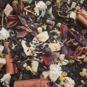 zwarte thee stoer