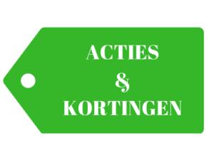 Acties webshop De Boom