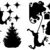 raamfolie kerstmis
